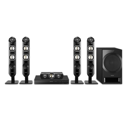 Panasonic SC-XH333GS-K DVD Home Theater - Dynamic boost with elegant speaker design (Bluetooth/USB/HDMI)