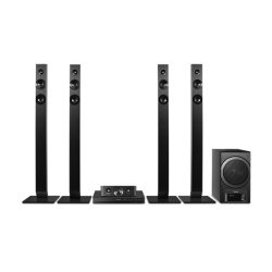 Panasonic SC-XH385GS-K DVD Home Theater with powerful bass-reflex subwoofer
