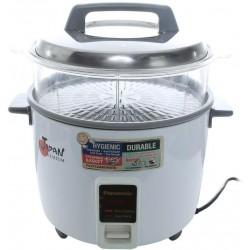 Panasonic SR-W18FGSWUA Rice Cooker with steaming basket