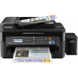 Epson Imp Multifonction ITS L565 4 in 1 Wifi 4 coul + 2 x Free 70ml BoTTLES