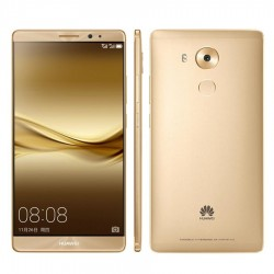 "Huawei Mate 8, Luxurious Gold, Dual SIM, 4GB Ram, 64Gb Int Memory, 4G Cat 6, 6"" FHD"