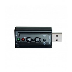 7.1CH  3D  Sound Card USB sound card 080 Astrum