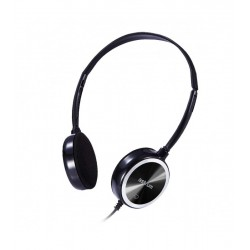 Wired Hedset HS210 with Mic Light Black Astrum