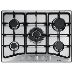 Elba E75-545X Gas Burner with cast Iron Wok and Pan support