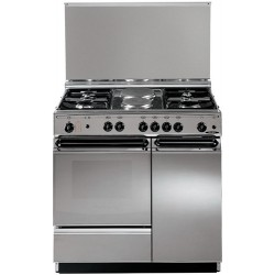Elba 58X740 Electric Oven Cooker - 4 Functions With Rotisserie Kit